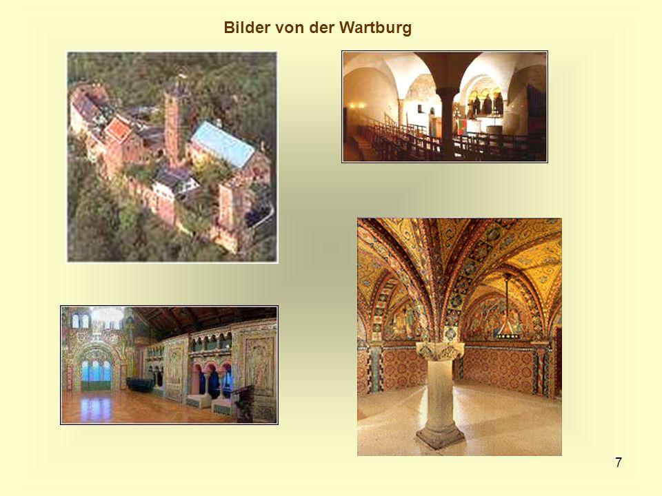Bilder von der Wartburg