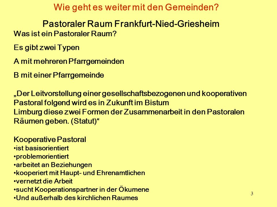 Pastoraler Raum Frankfurt-Nied-Griesheim