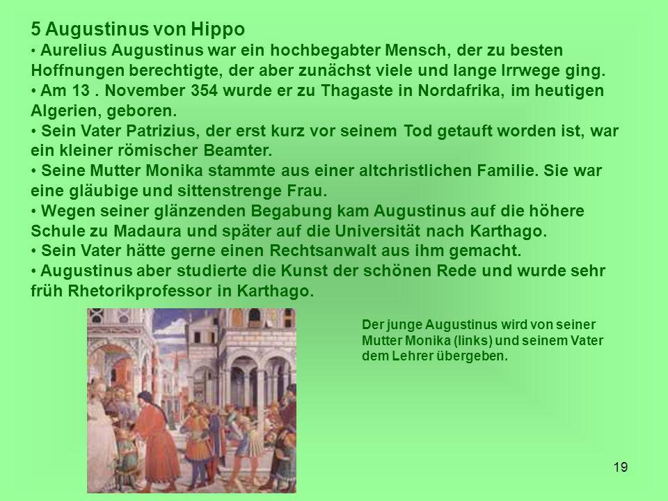 5 Augustinus von Hippo