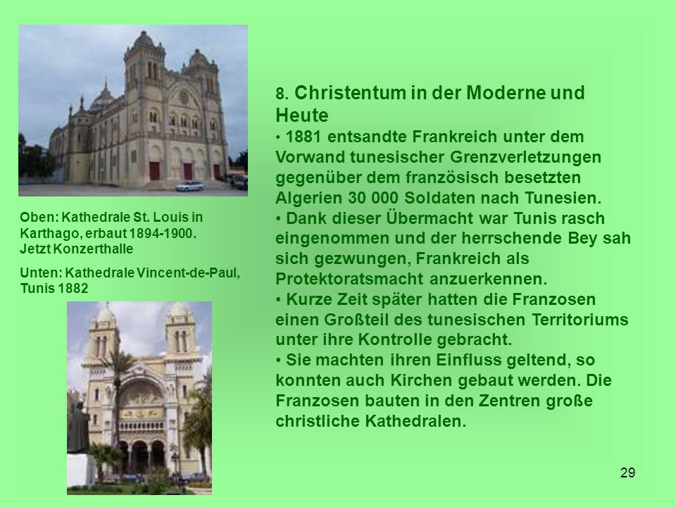 8. Christentum in der Moderne und Heute