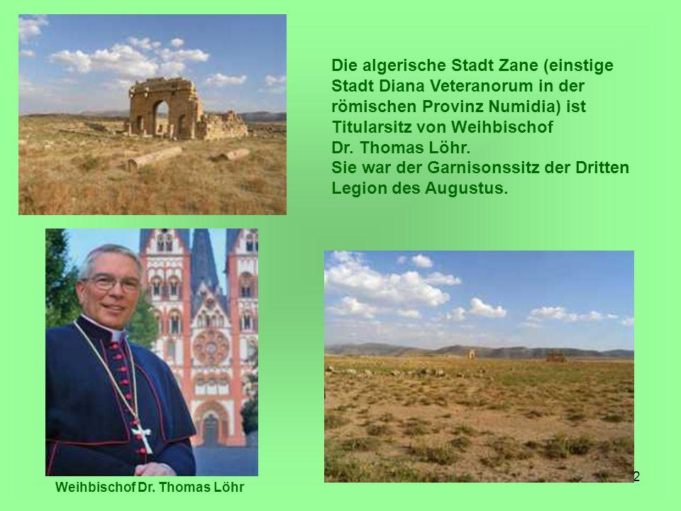 Weihbischof Dr. Thomas Löhr