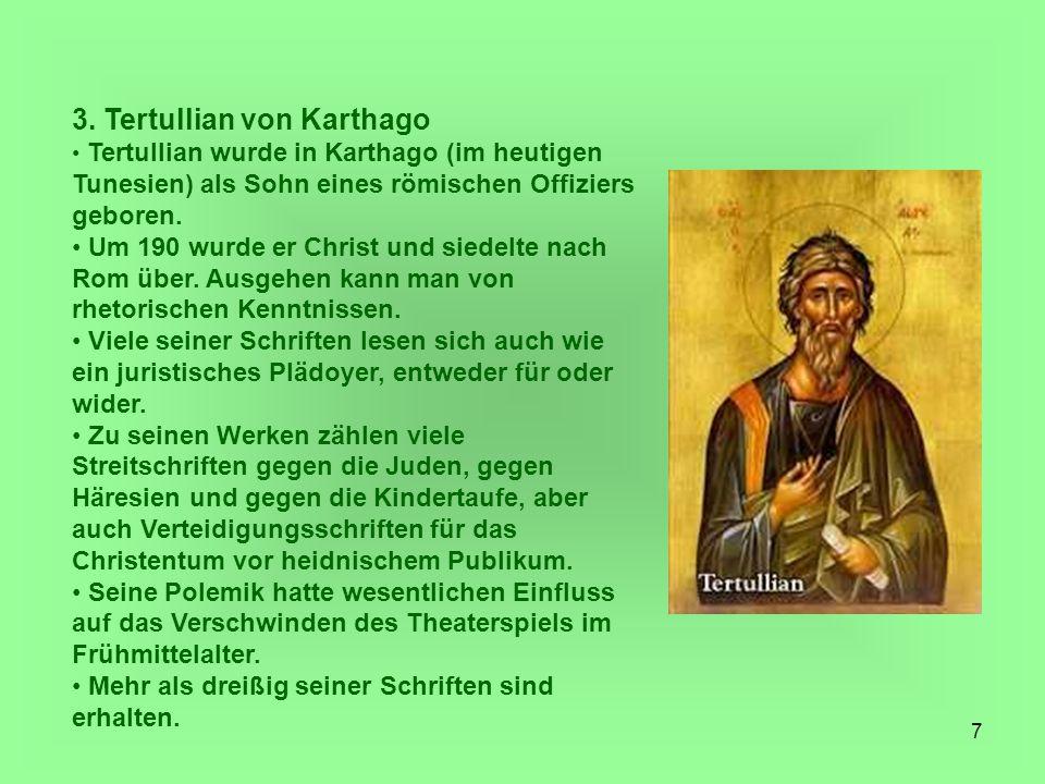 3. Tertullian von Karthago
