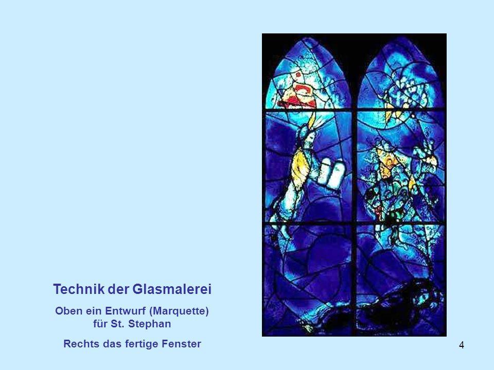 Technik der Glasmalerei