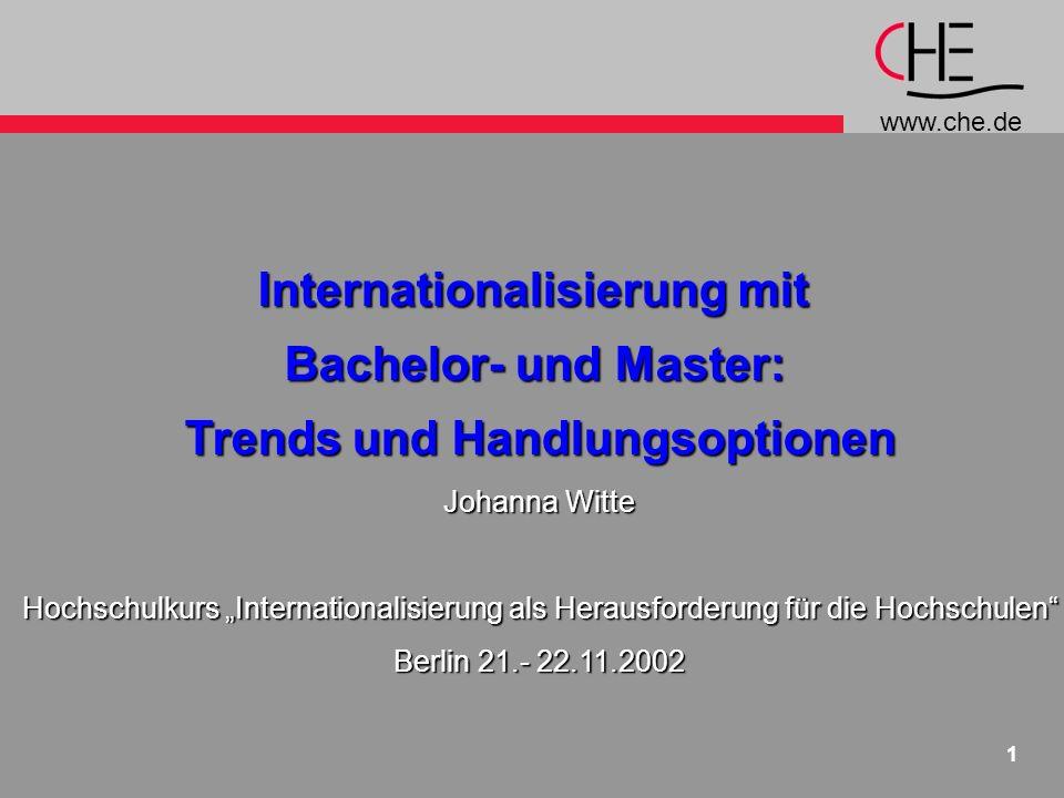 Internationalisierung mit Trends und Handlungsoptionen