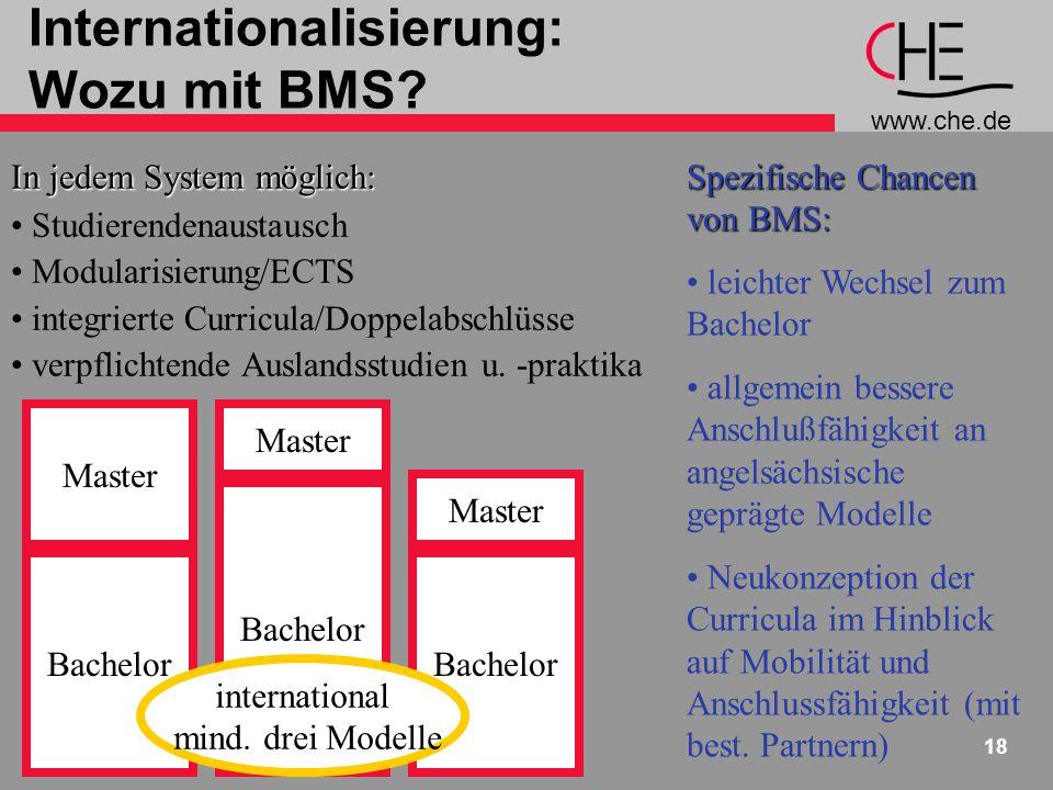 Internationalisierung: Wozu mit BMS