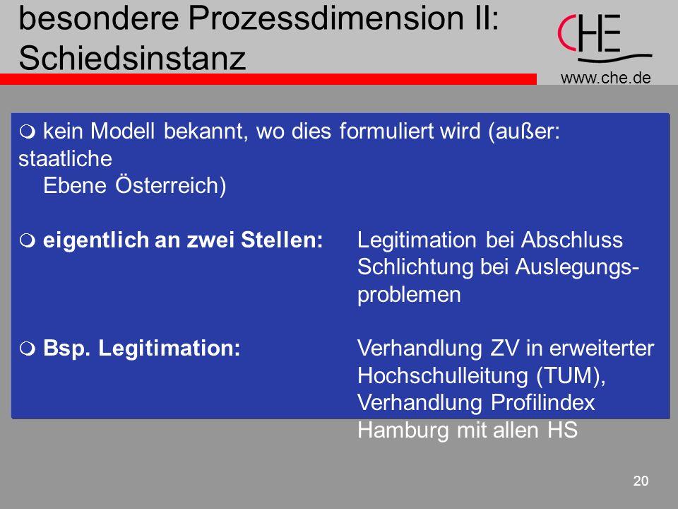 besondere Prozessdimension II: Schiedsinstanz