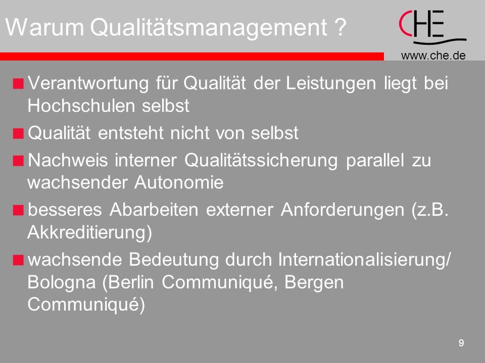 Warum Qualitätsmanagement