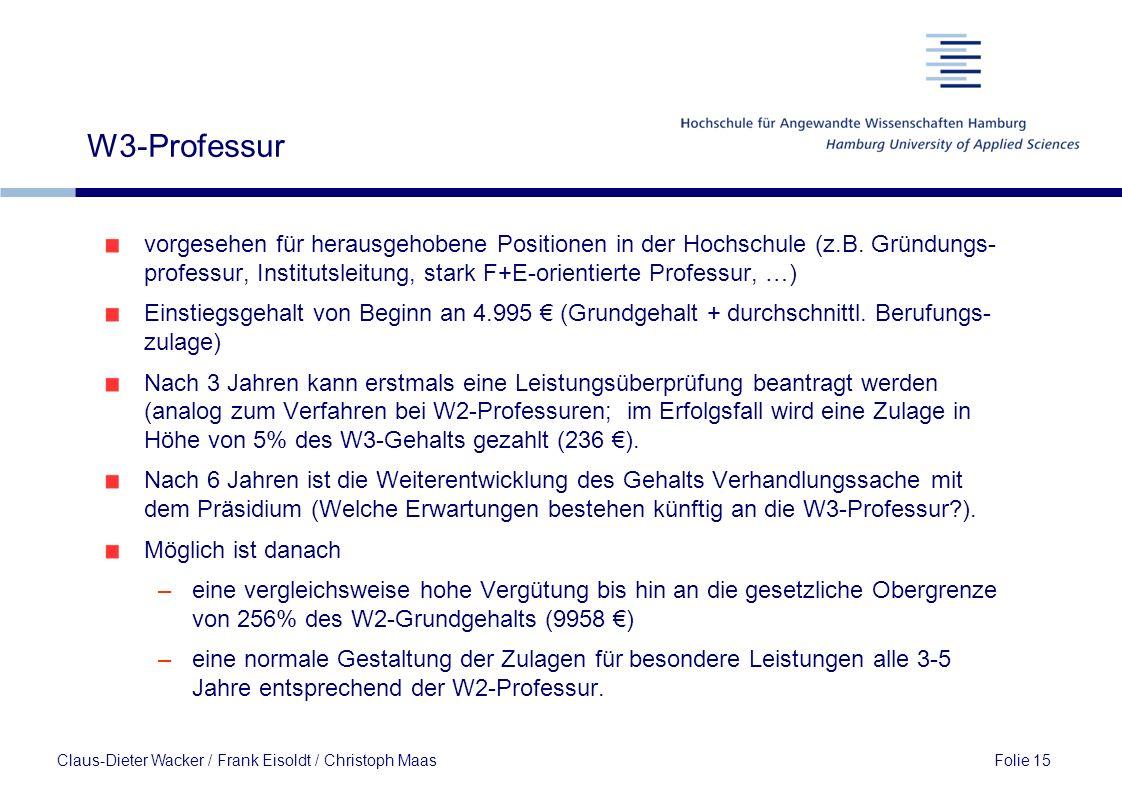 W3-Professur