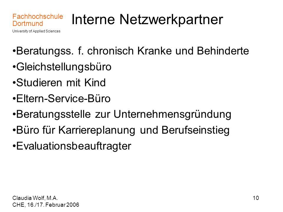 Interne Netzwerkpartner