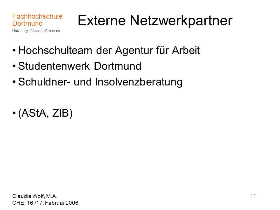 Externe Netzwerkpartner