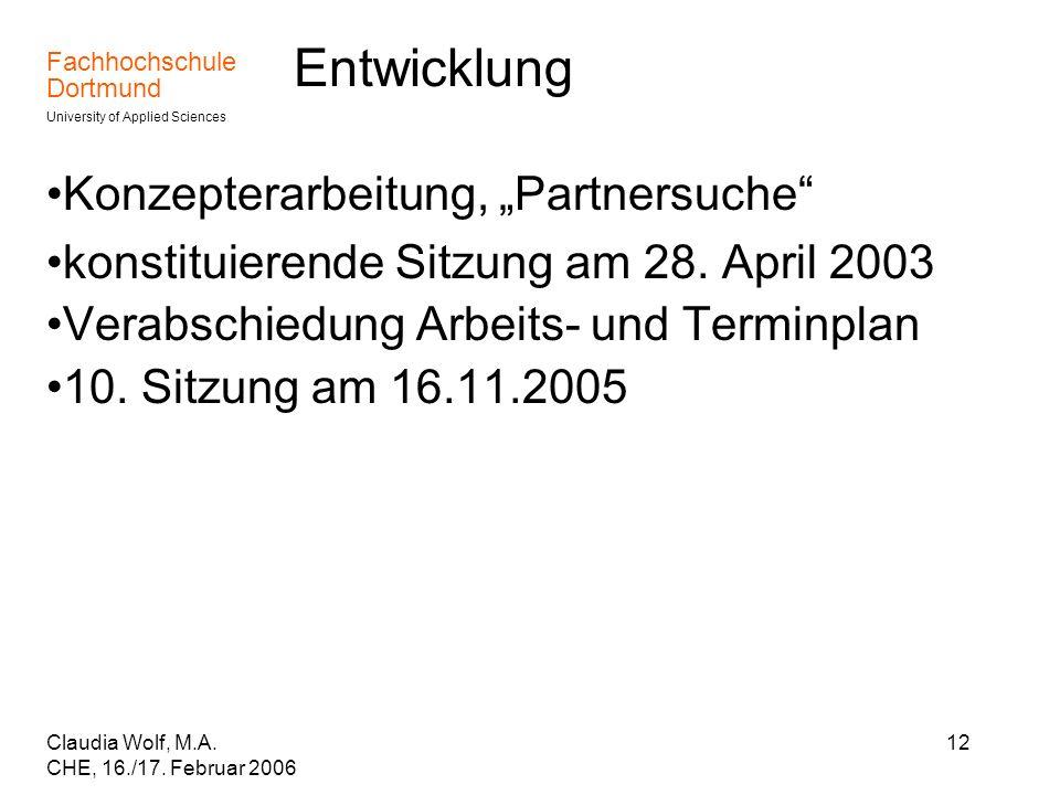 """Entwicklung Konzepterarbeitung, """"Partnersuche"""