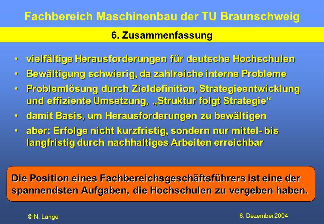 vielfältige Herausforderungen für deutsche Hochschulen