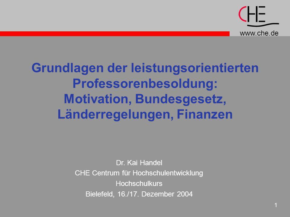 CHE Centrum für Hochschulentwicklung
