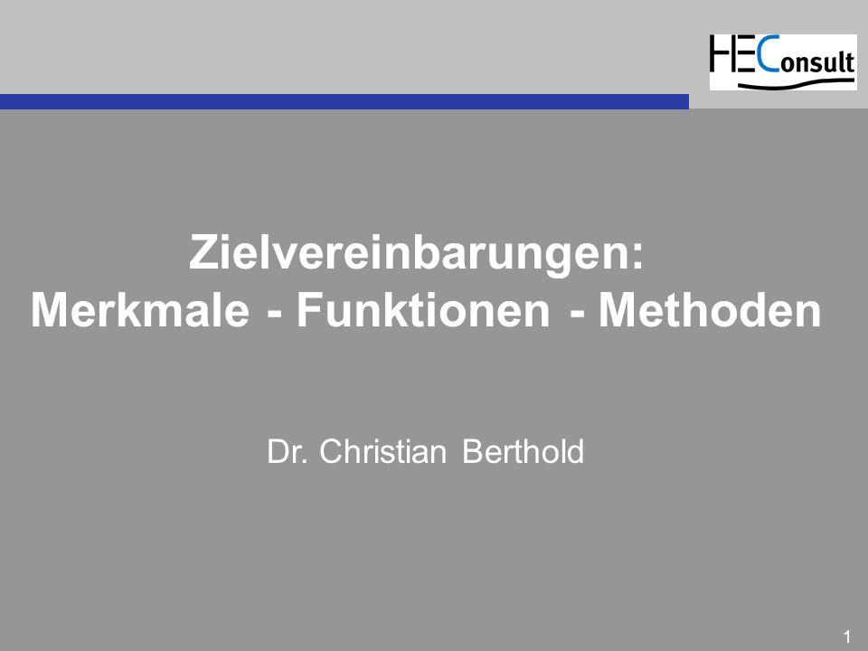 Merkmale - Funktionen - Methoden