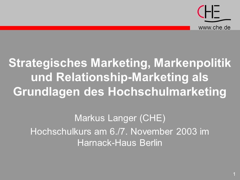 Hochschulkurs am 6./7. November 2003 im Harnack-Haus Berlin