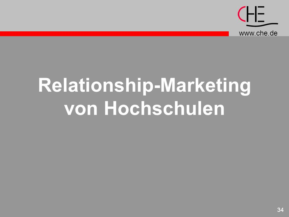 Relationship-Marketing von Hochschulen