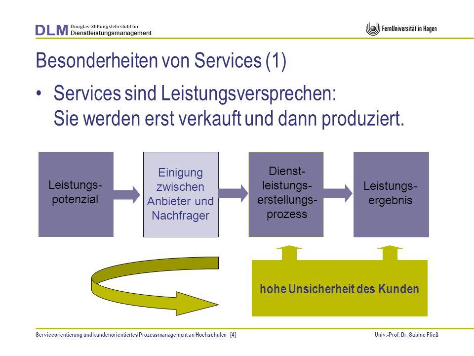 Besonderheiten von Services (1)