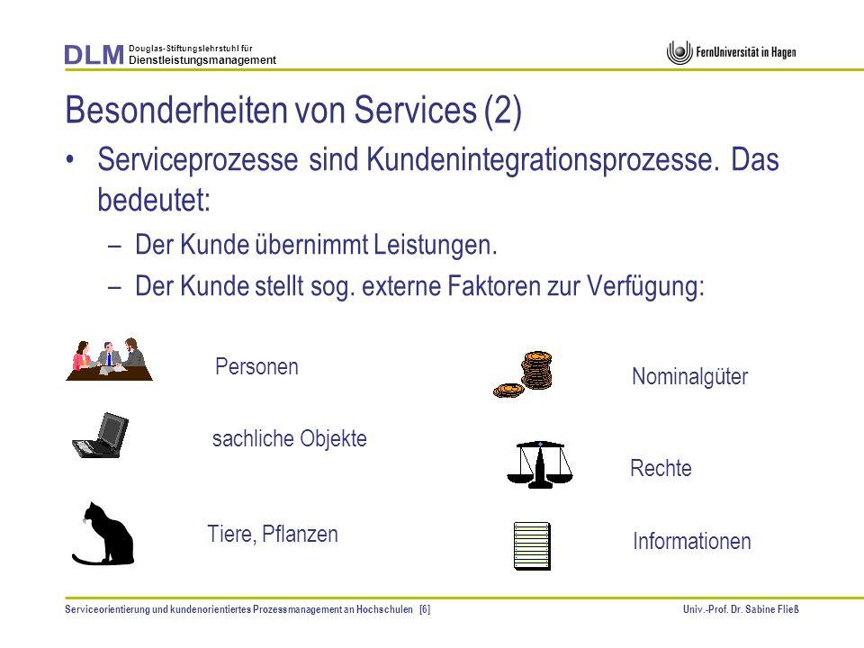 Besonderheiten von Services (2)