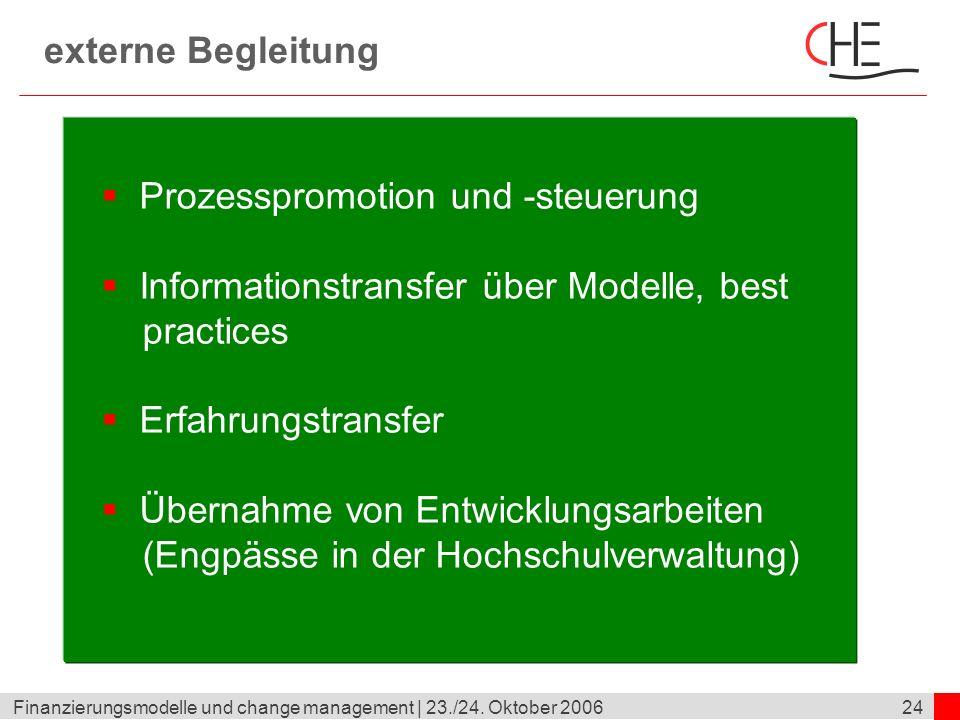 Prozesspromotion und -steuerung