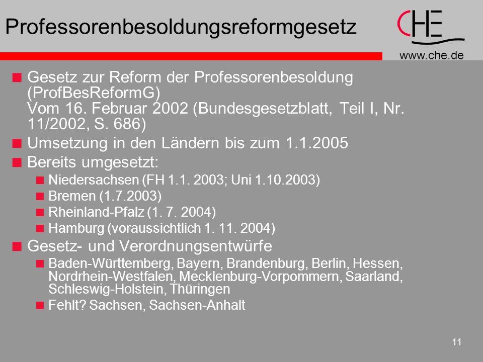 Professorenbesoldungsreformgesetz