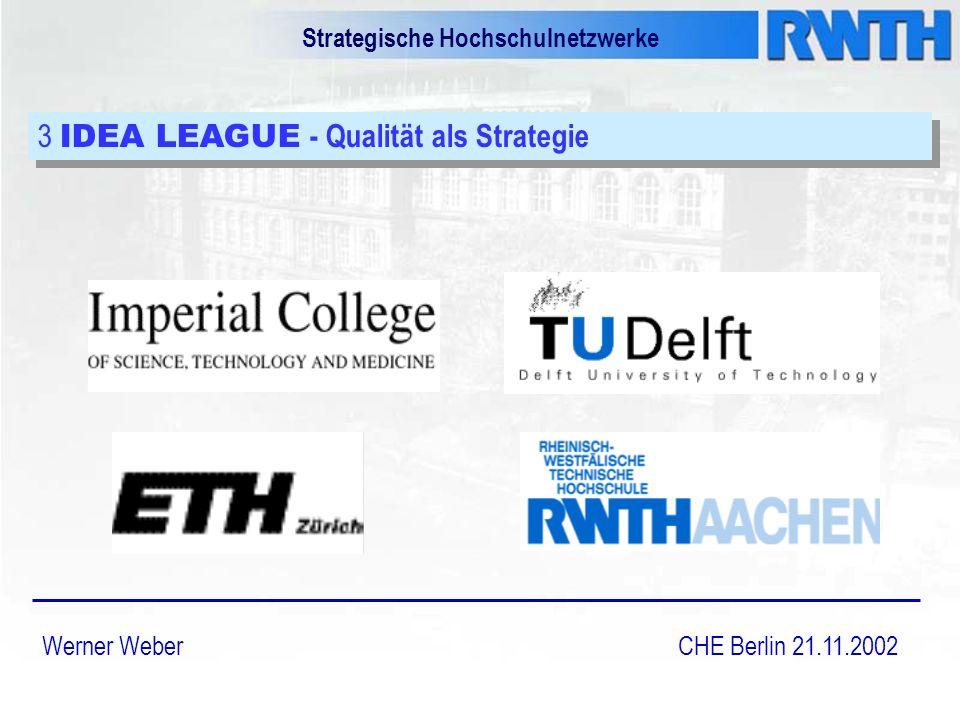 Strategische Hochschulnetzwerke