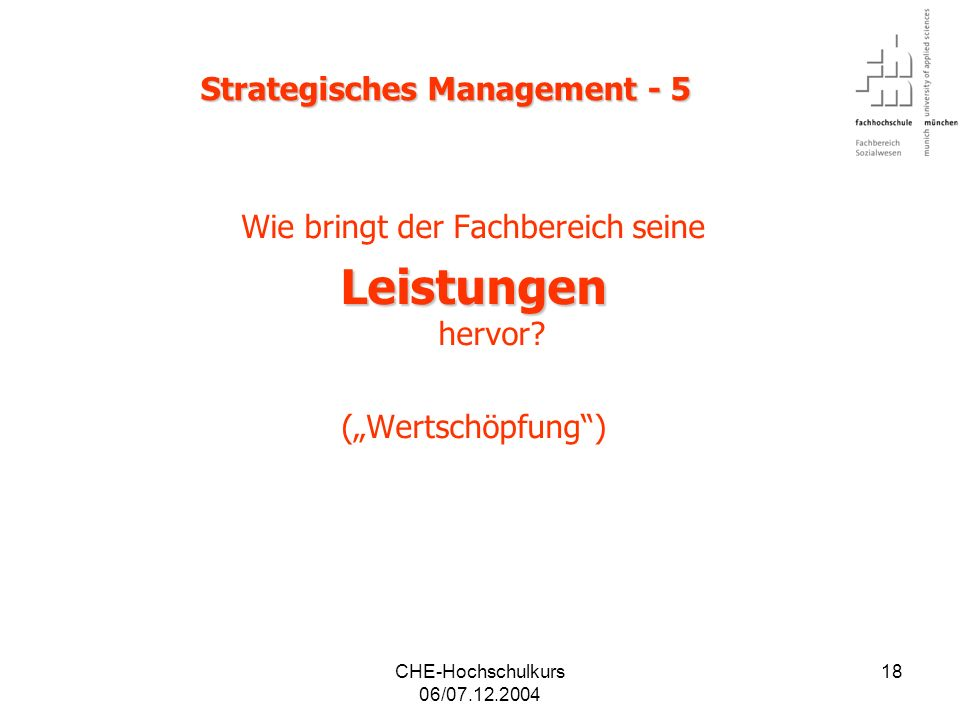 Strategisches Management - 5
