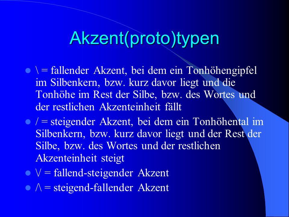 Akzent(proto)typen