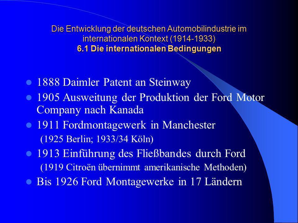 1888 Daimler Patent an Steinway