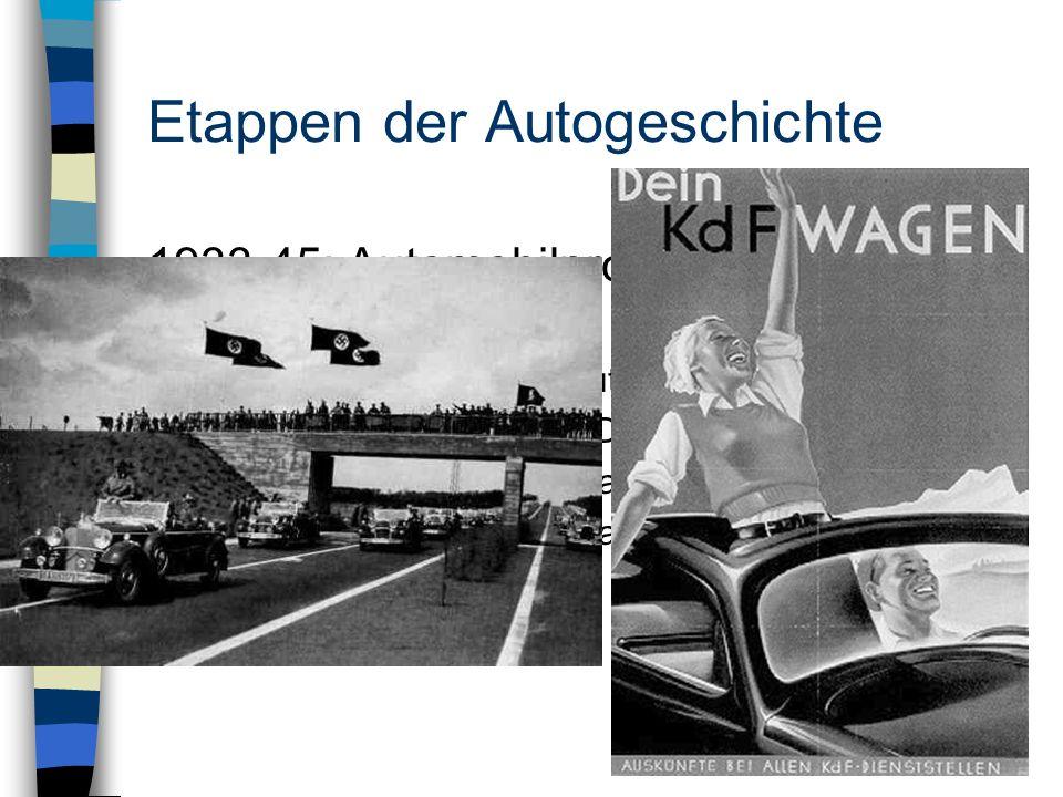 Etappen der Autogeschichte