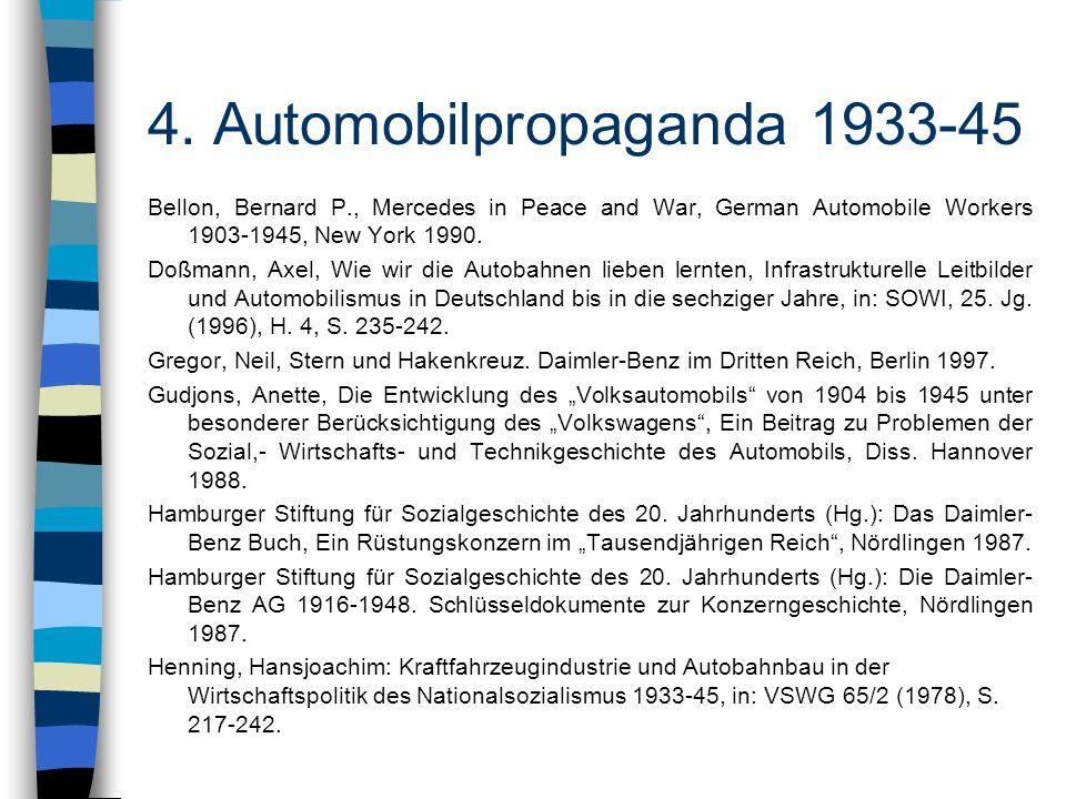 4. Automobilpropaganda 1933-45