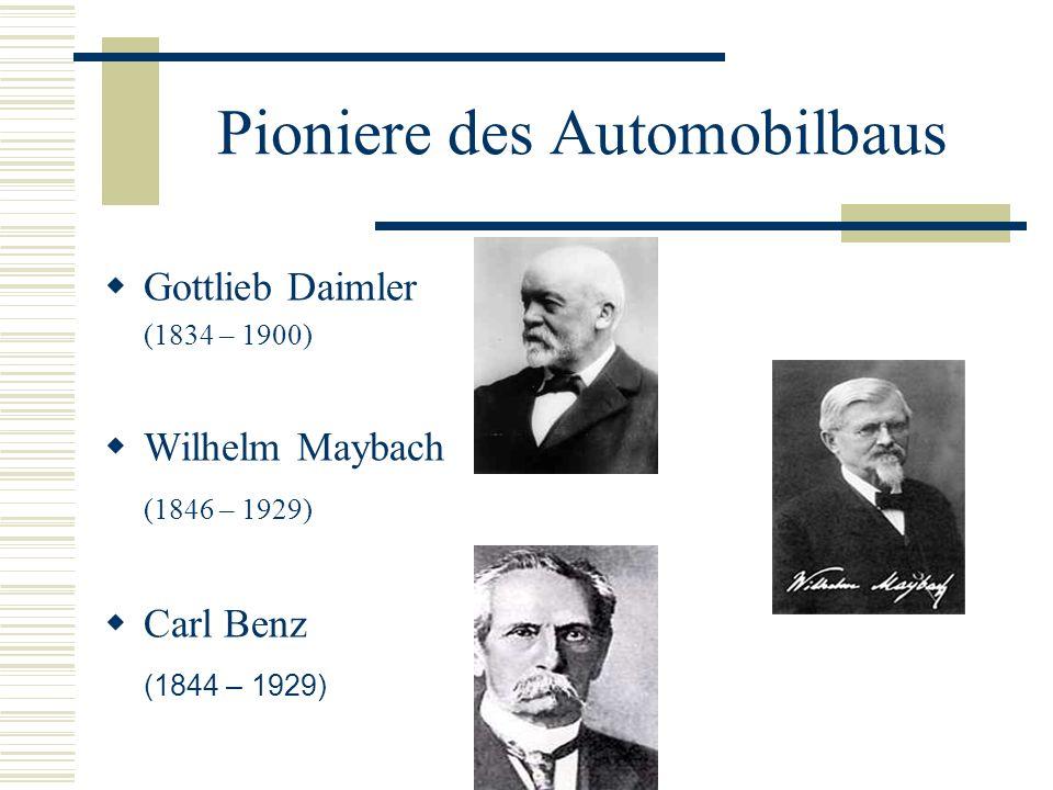 Pioniere des Automobilbaus