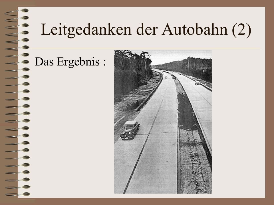 Leitgedanken der Autobahn (2)