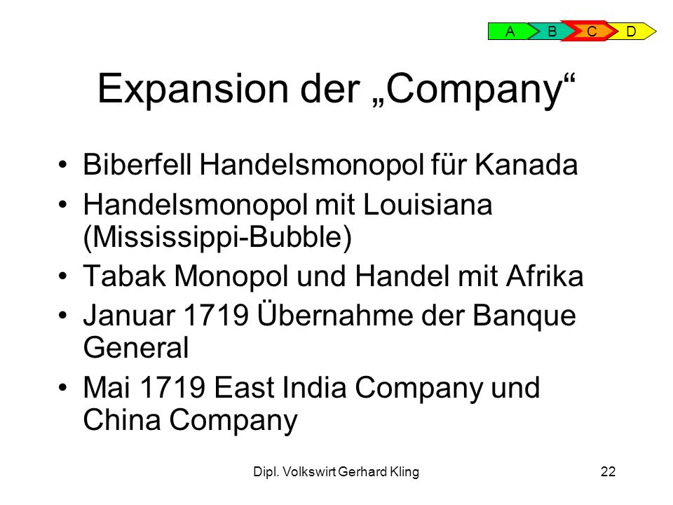 "Expansion der ""Company"