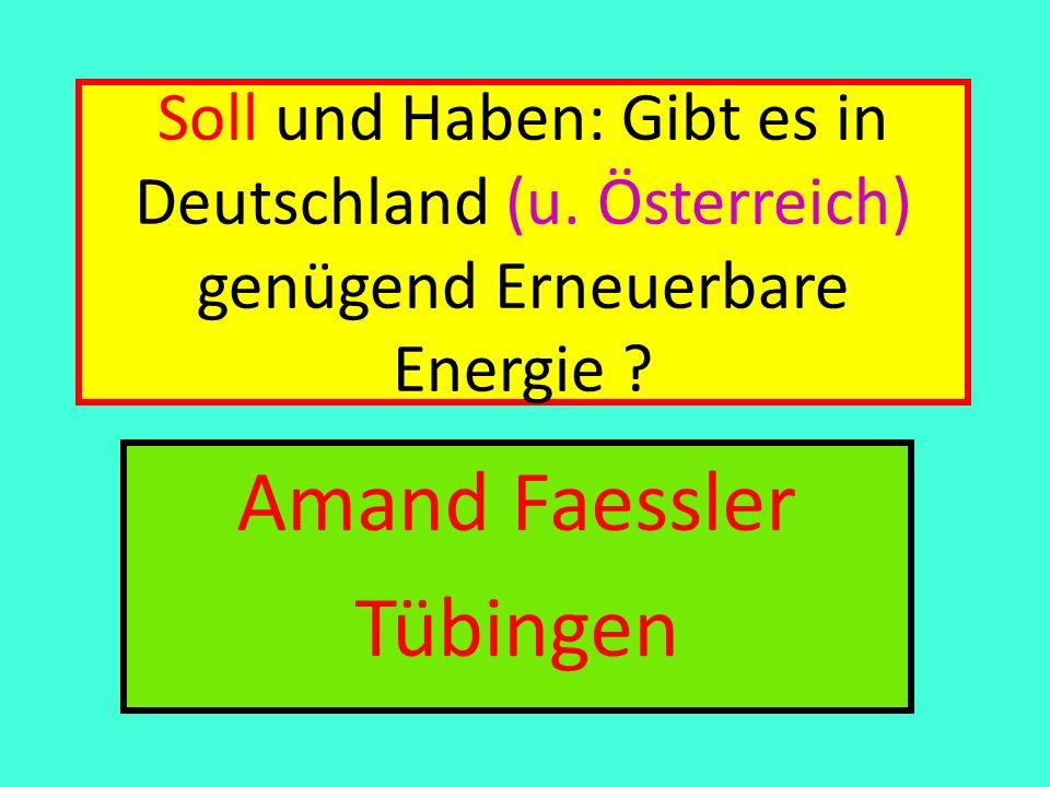 Amand Faessler Tübingen