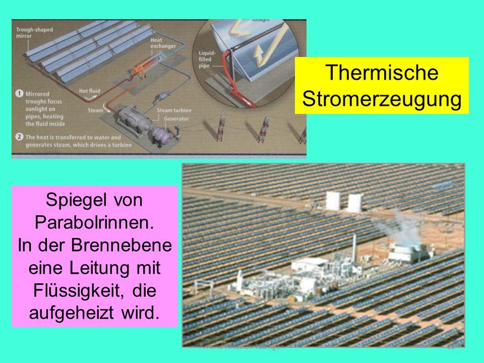 Thermische Stromerzeugung