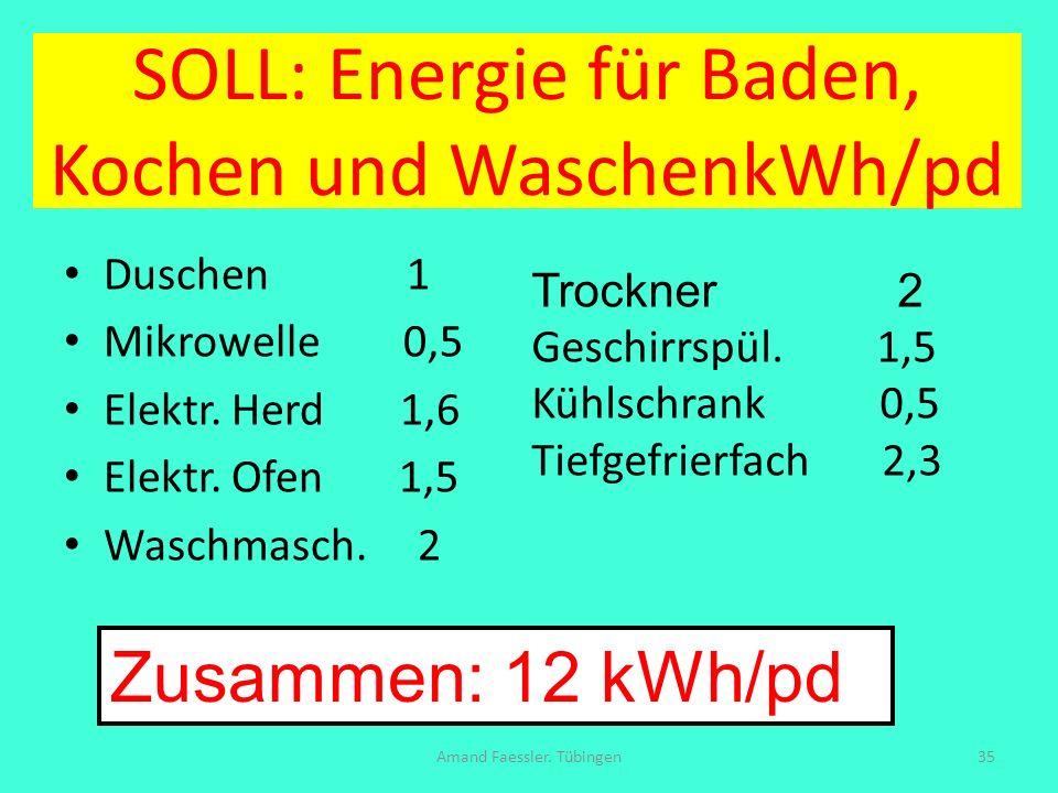 SOLL: Energie für Baden, Kochen und WaschenkWh/pd