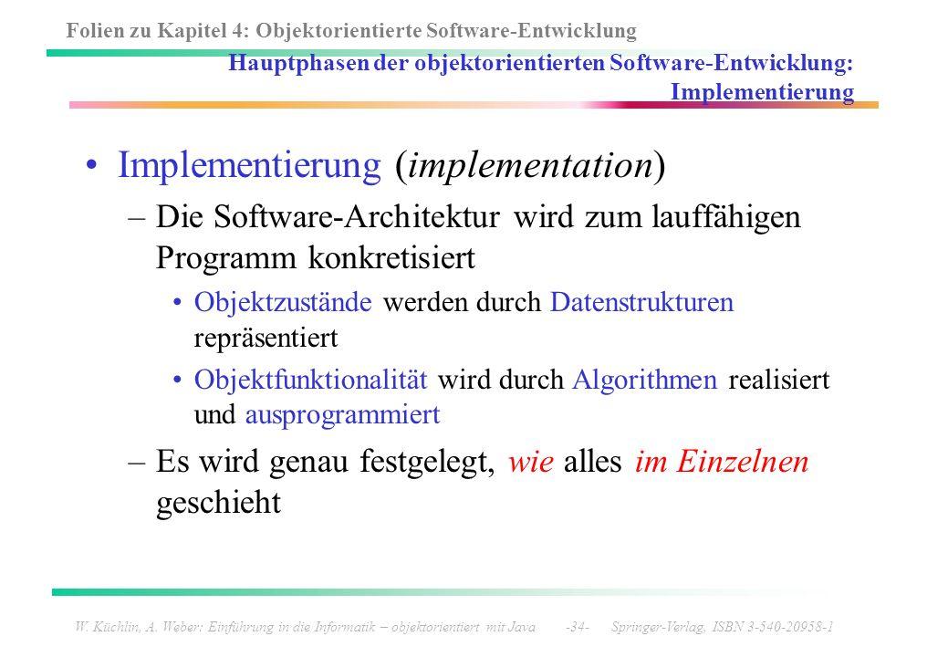 Implementierung (implementation)