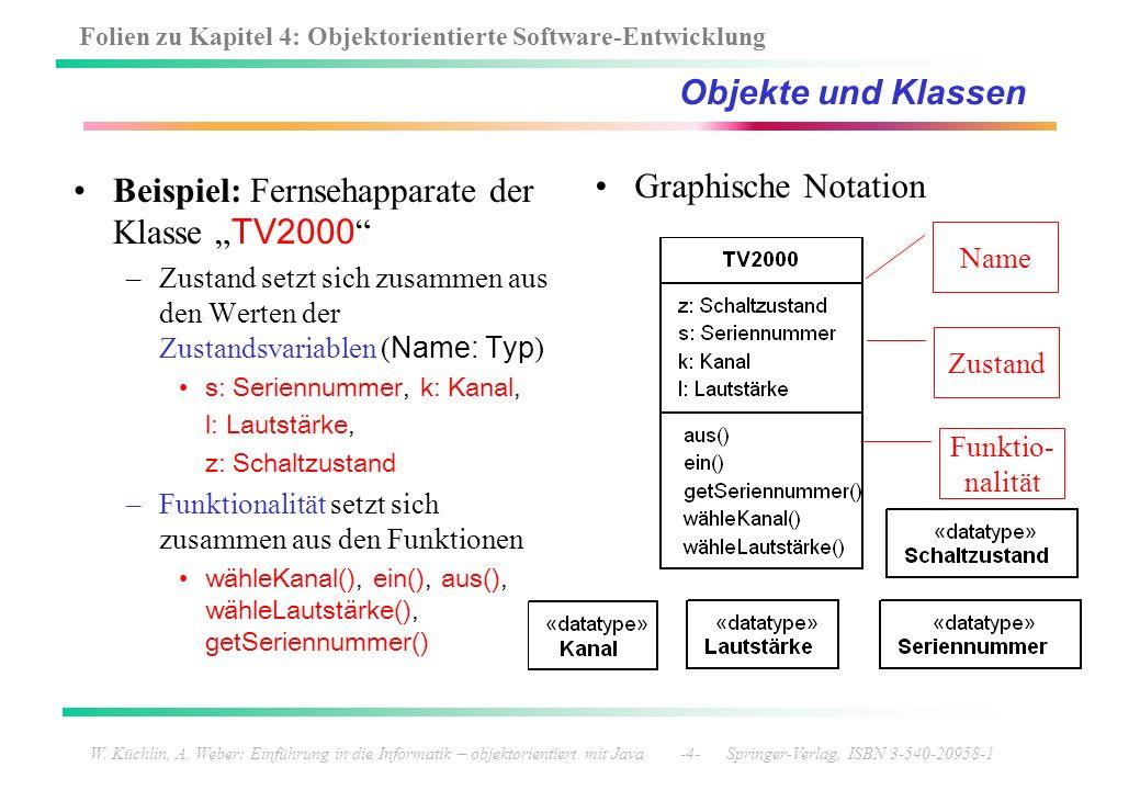 """Beispiel: Fernsehapparate der Klasse """"TV2000 Graphische Notation"""