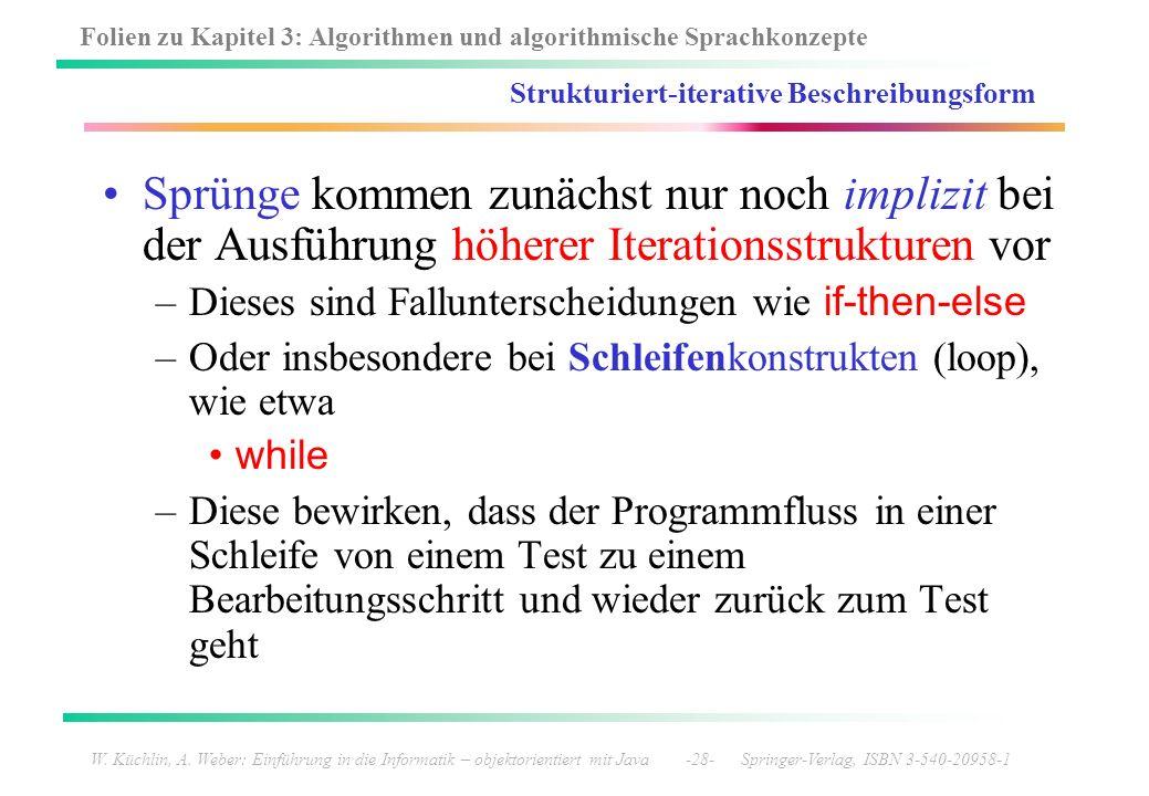 Strukturiert-iterative Beschreibungsform
