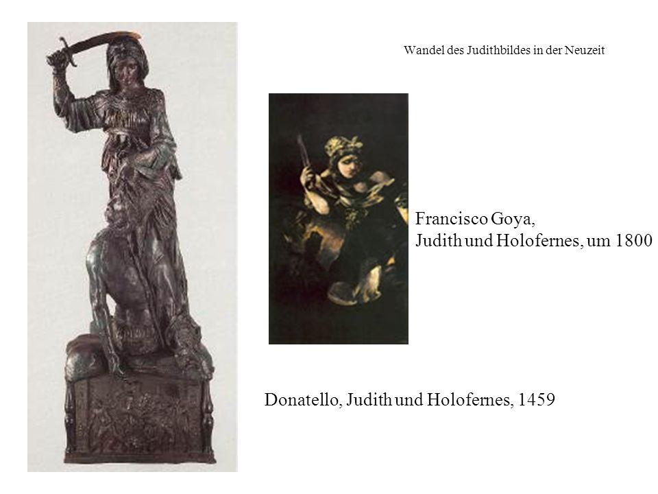 Wandel des Judithbildes in der Neuzeit