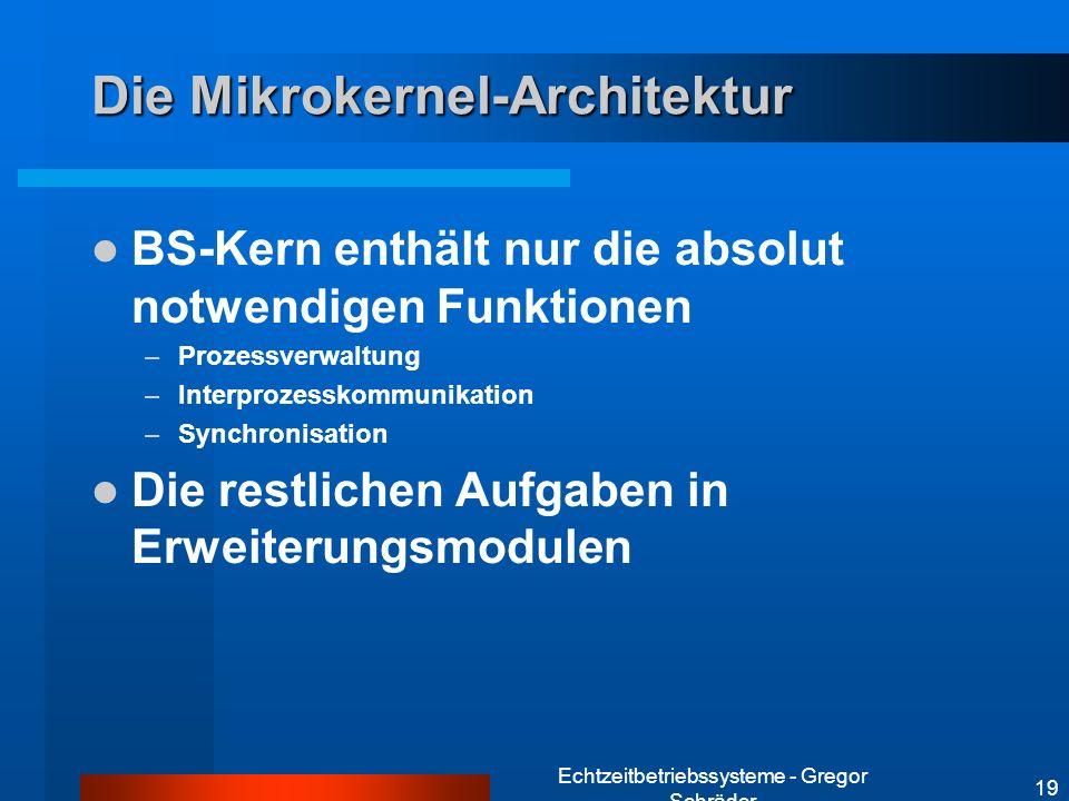 Die Mikrokernel-Architektur