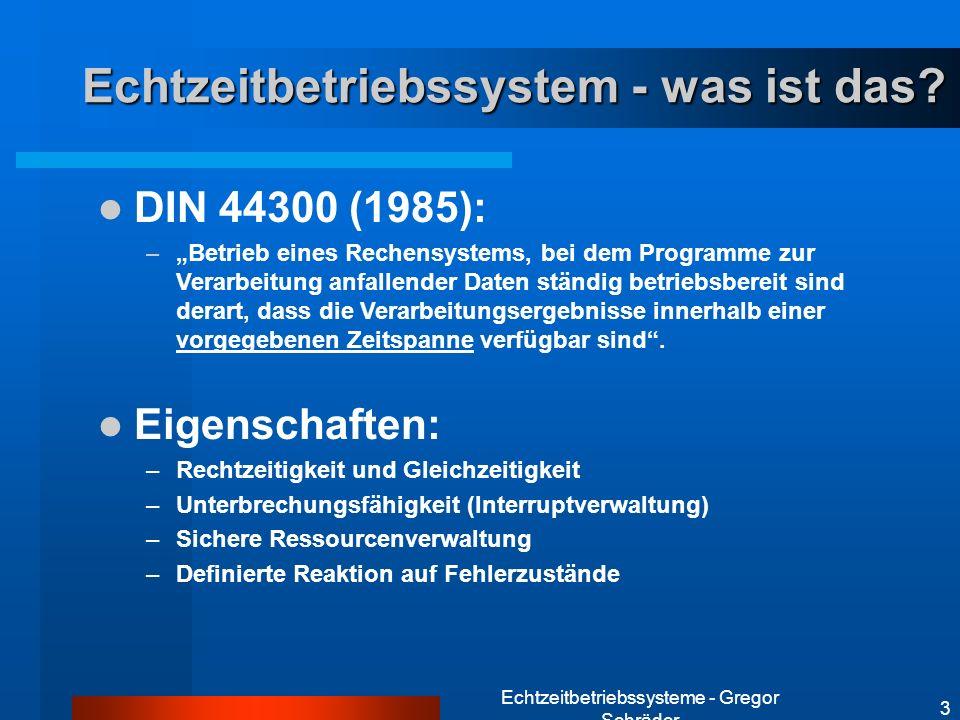 Echtzeitbetriebssystem - was ist das