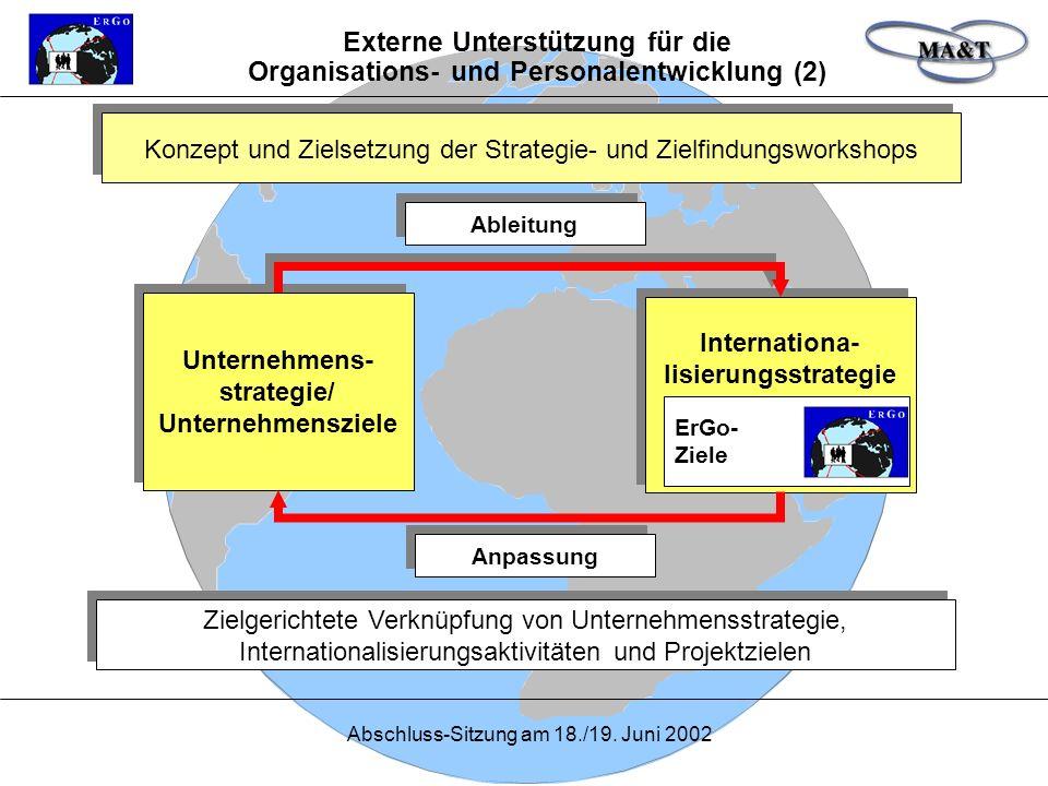 Externe Unterstützung für die Organisations- und Personalentwicklung (2)