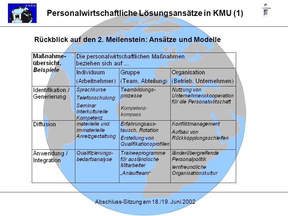 Personalwirtschaftliche Lösungsansätze in KMU (1)