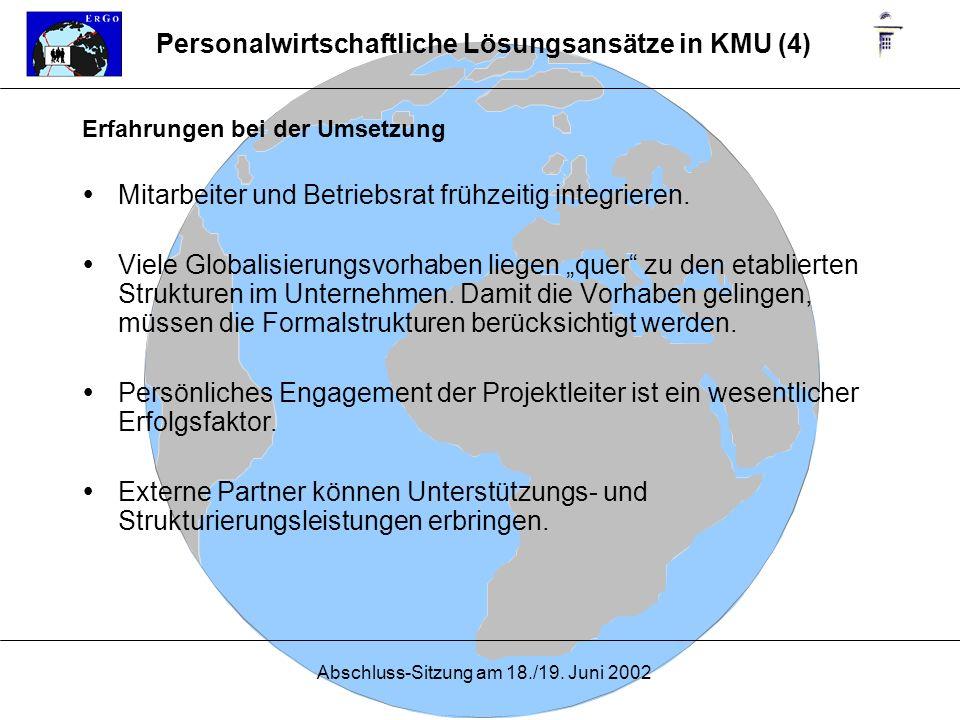 Personalwirtschaftliche Lösungsansätze in KMU (4)