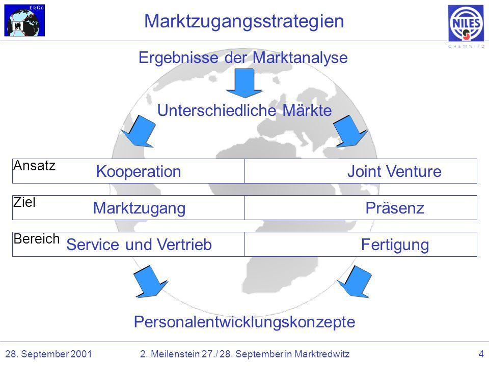 Marktzugangsstrategien