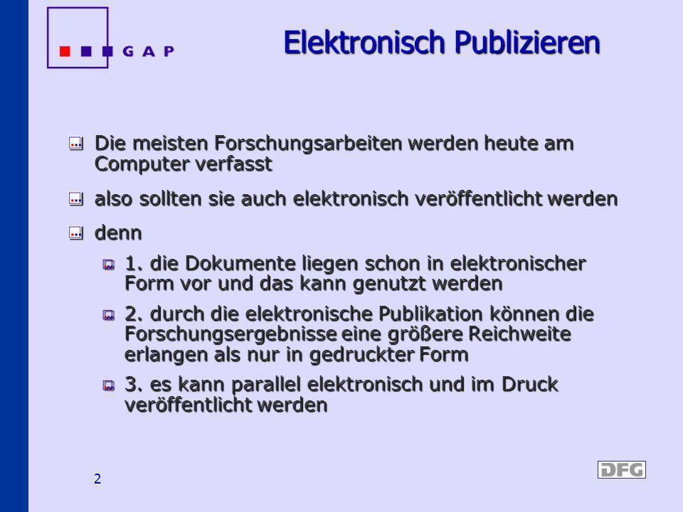 Elektronisch Publizieren