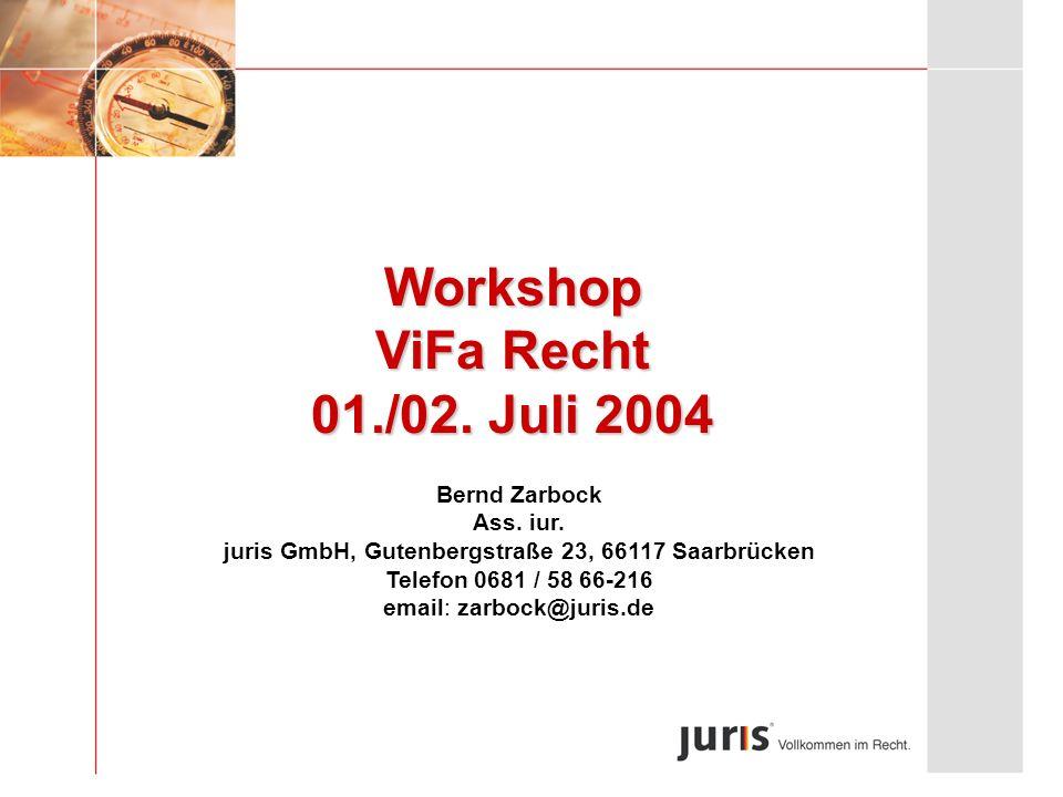 juris GmbH, Gutenbergstraße 23, 66117 Saarbrücken