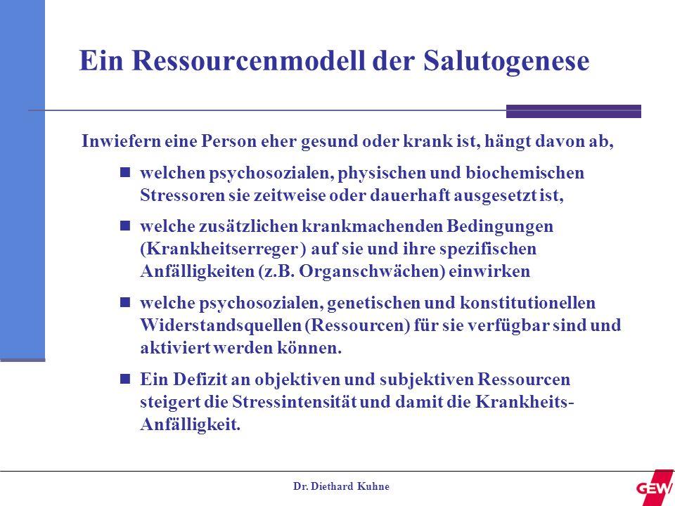 Ein Ressourcenmodell der Salutogenese