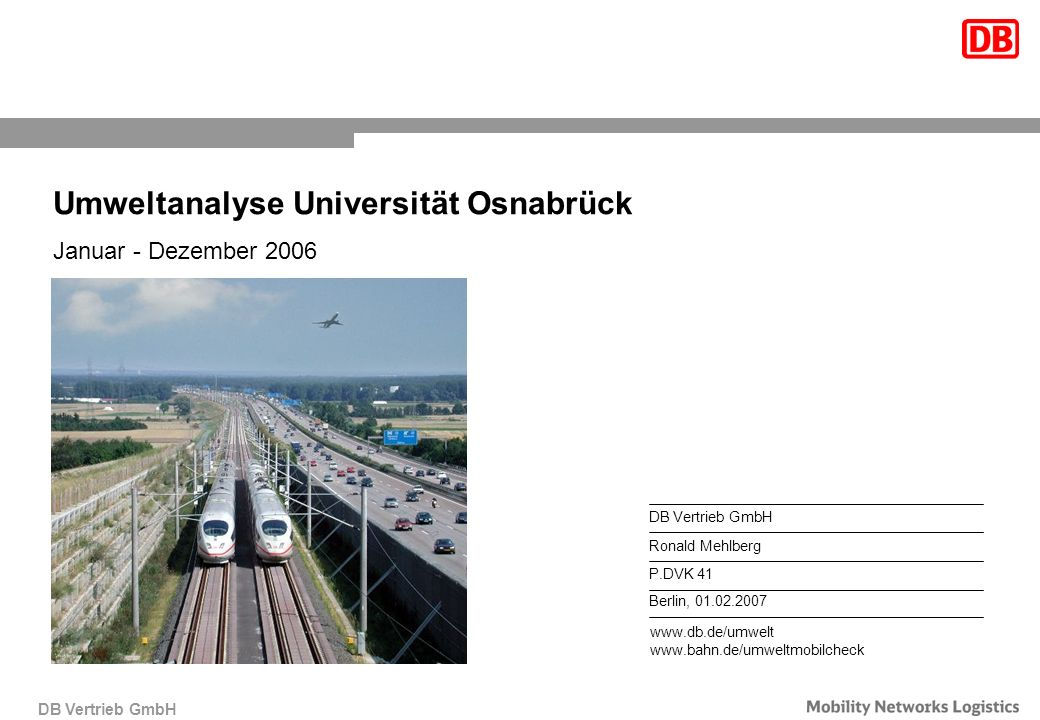 Umweltanalyse Universität Osnabrück